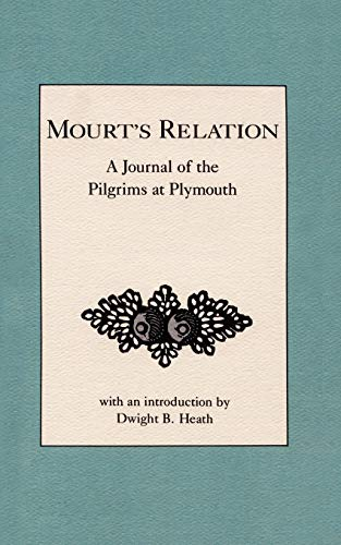 9780918222848: Mourt's Relation: A Journal of the Pilgrims at Plymouth