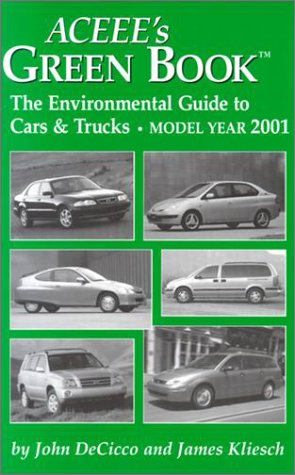 9780918249456: Aceee's Green Book: The Environmental Guide