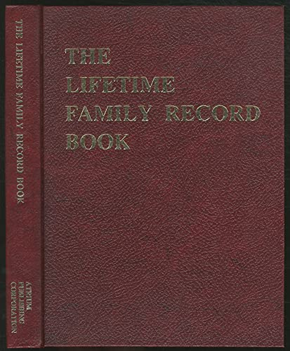 The Lifetime Family Record Book