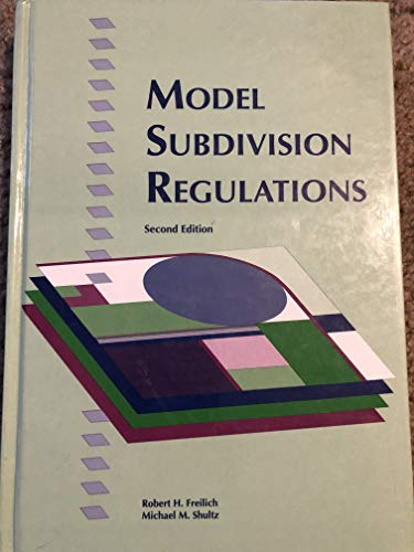 9780918286871: Model subdivision regulations: Planning and law : a complete ordinance and annotated guide to planning practice and legal requirements