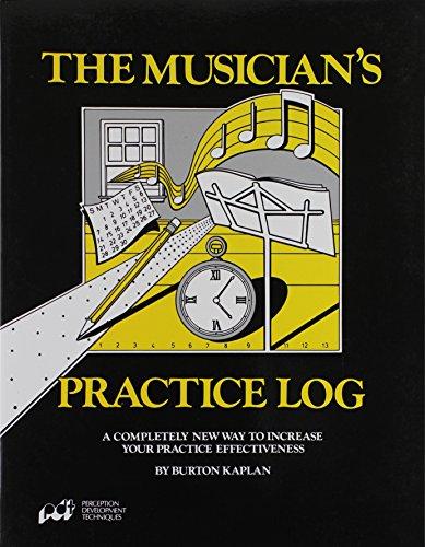 9780918316042: Musician's Practice Log