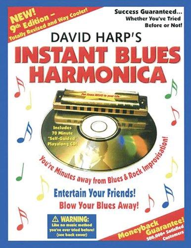 9780918321725: Instant Blues Harmonica (Book & CD)