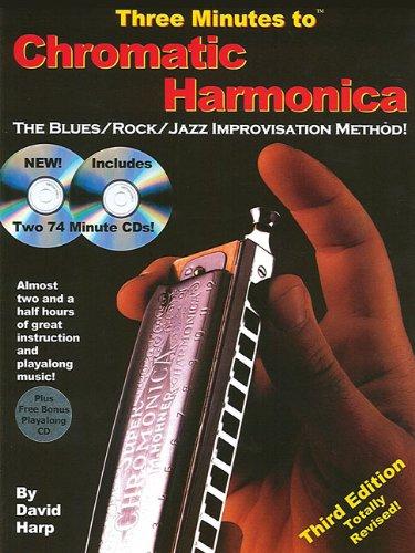 9780918321824: Three Minutes to Chromatic Harmonica: The Blues/Rock/Jazz Improvisation Method!
