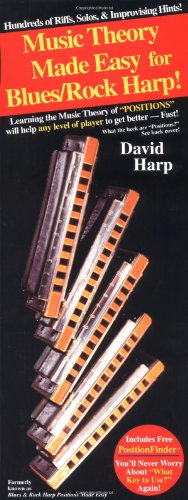 9780918321831: Harp Positions Made Easy for Blues / Rock Harp (Harmonica)