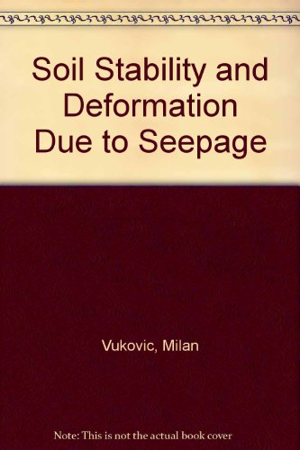 9780918334787: Soil Stability and Deformation Due to Seepage