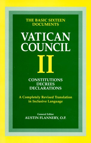 Documents of the Vatican Council: Austin Flannery