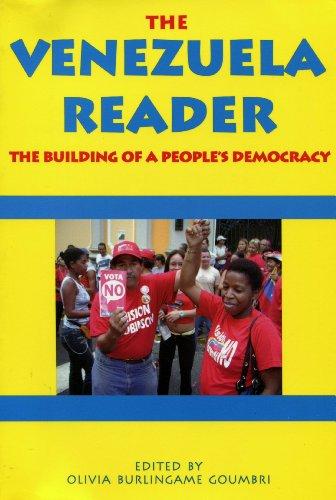 9780918346353: Venezuela Reader: The Building of a People's Democracy
