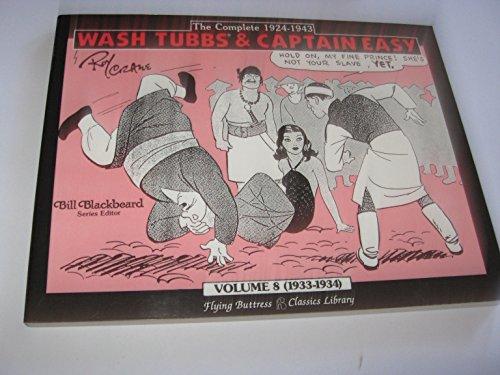 9780918348739: Wash Tubbs & Captain Easy Volume 8 (1933-1934)