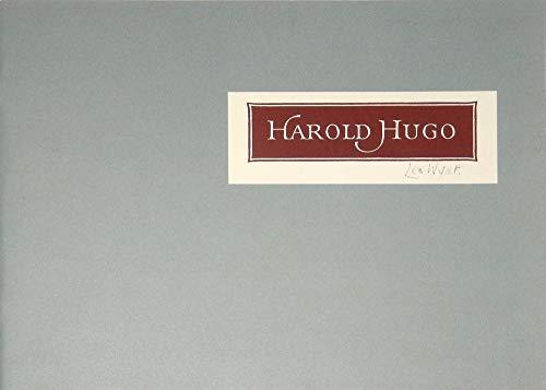 Harold Hugo, 1910-1985, museum patron: Bruhn, Thomas P