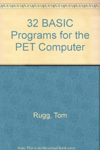 9780918398253: 32 BASIC Programs for the PET Computer