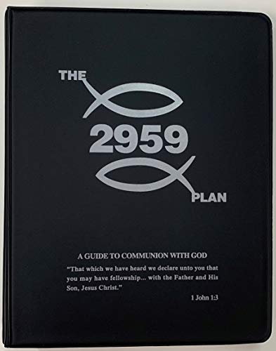9780918403001: The 2959 Plan: A Guide to Communion with God (Brown 3 Ring Binder)