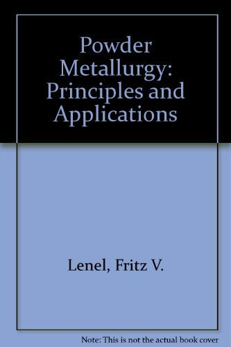 9780918404480: Powder Metallurgy: Principles and Applications