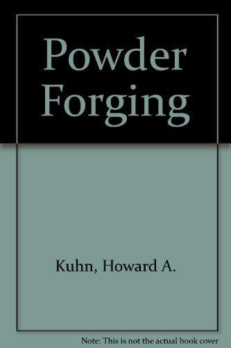 9780918404848: Powder Forging