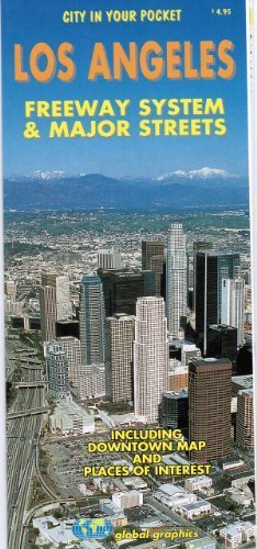 9780918505163: Los Angeles Freeway System & Major Streets