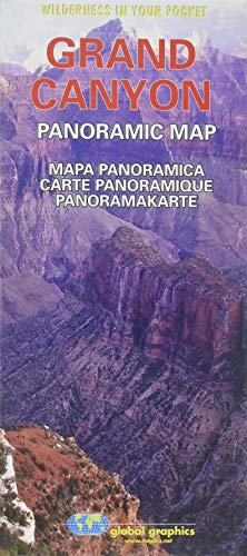 9780918505583: Grand Canyon Panoramic Map (Wilderness in Your Pocket)