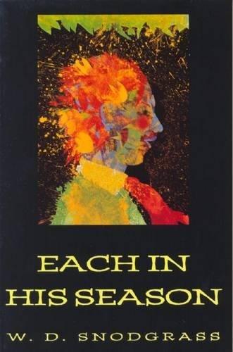 9780918526991: Each in His Season (American Poets Continuum)