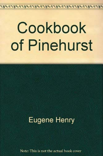 A Cookbook of Pinehurst Courses