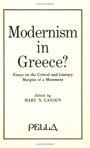 9780918618436: Modernism in Greece