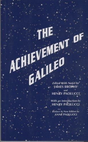 9780918680952: The Achievement of Galileo
