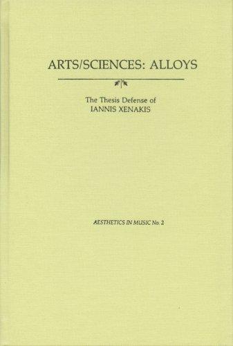 9780918728227: Arts-Sciences: Alloys (Aesthetics in Music Series; No. 2)