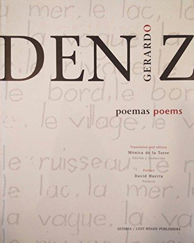 Poemas / Poems: Deniz, Gerardo