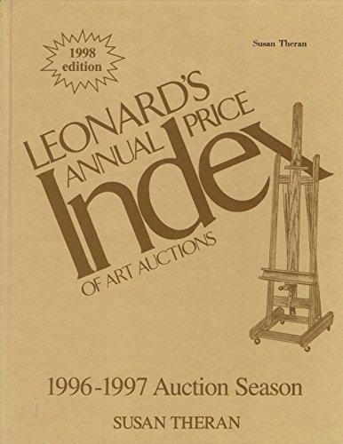 Leonard's Annual Price Index of Art Auctions,: Susan Theran