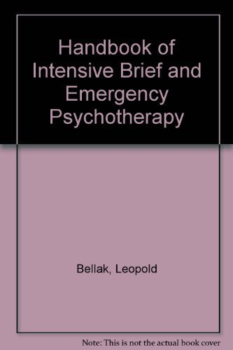 9780918863041: Handbook of Intensive Brief and Emergency Psychotherapy