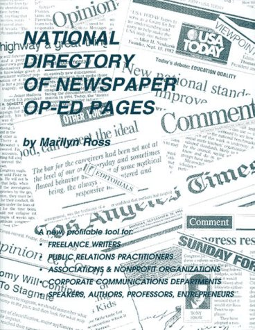 9780918880178: National Directory of Newspaper Op-Ed Pages