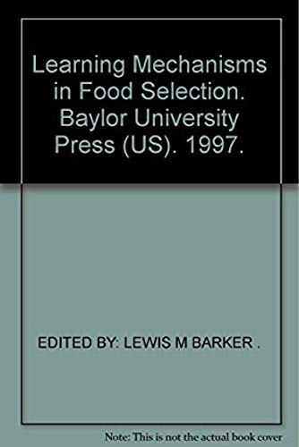 Learning Mechanisms in Food Selection