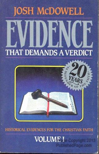 9780918956460: Evidence That Demands a Verdict