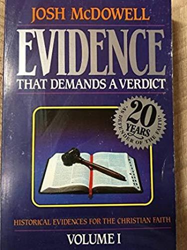 9780918956576: Evidence That Demands a Verdict