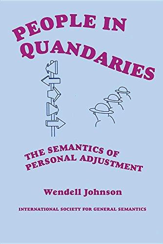 9780918970275: People in Quandaries