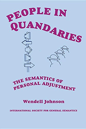 9780918970275: People in Quandaries: The Semantics of Personal Adjustment
