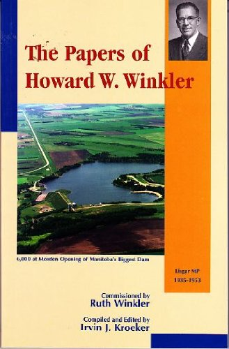 The Papers of Howard W. Winkler