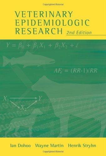 9780919013605: Veterinary Epidemiologic Research