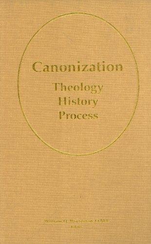 9780919261525: Canonization: Theology, History, Process