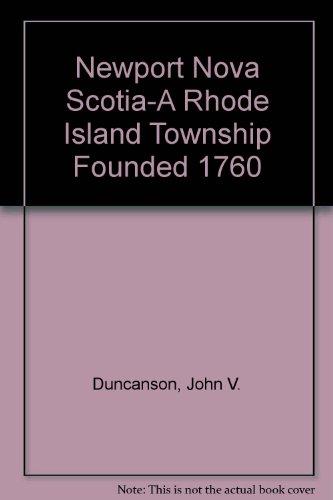 9780919303928: Newport, Nova Scotia: A Rhode Island Township
