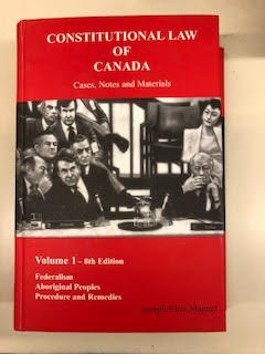 9780919311312: Constititutional Law of Canada : Cases, Notes and Materials