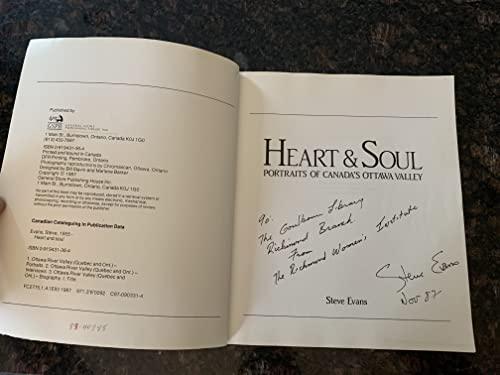 Heart & soul: Portraits of Canadas Ottawa Valley: Steve Evans