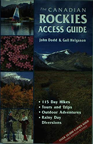 9780919433922: The Canadian Rockies Access Guide