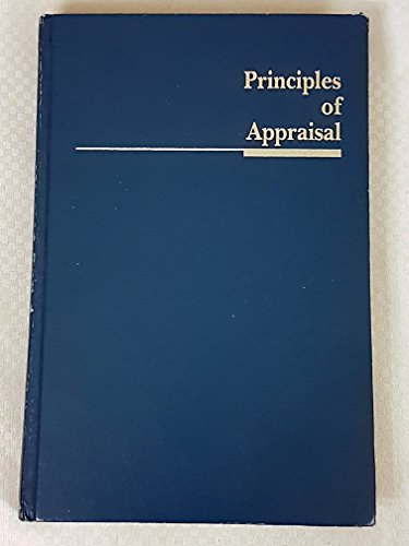 Principles of Appraisal: Ontario Real Estate Association