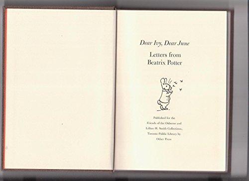 Dear Ivy, Dear June. Letters from Beatrix Potter: Potter, Beatrix