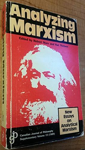 9780919491151: Analyzing Marxism