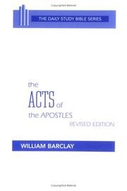 9780919532175: The Acts Of The Apostles