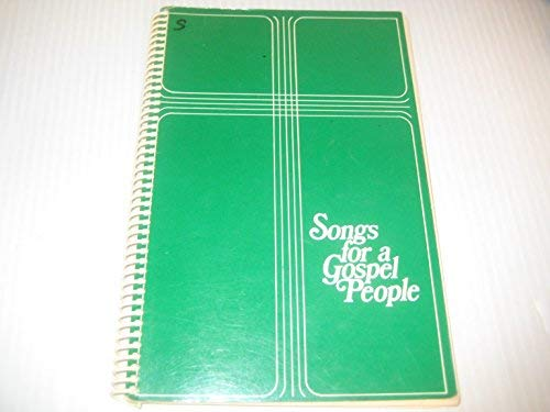 9780919599406: Songs for a Gospel People: A Supplement to the Hymn Book