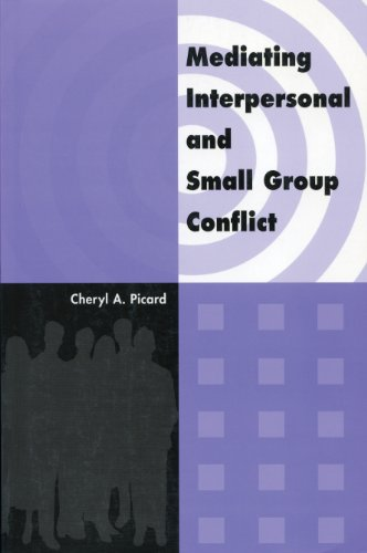 9780919614994: Mediating Interpersonal and Small Group Conflict