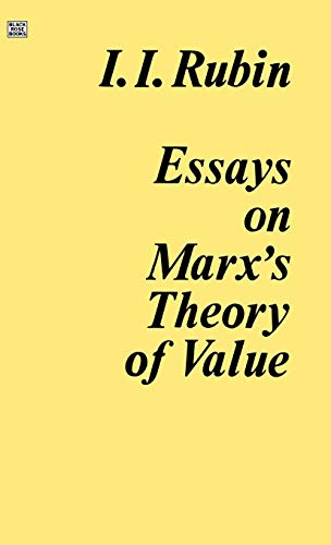 9780919618114: Essays on Marx's Theory of Value (Trans from Russian)