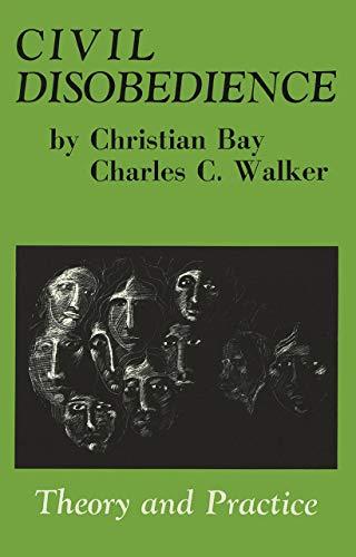 CIVIL DISOBEDIENCE (Black Rose Books): Christian Bay
