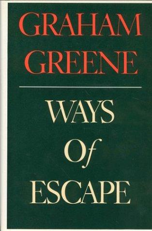 9780919630130: Ways of Escape.
