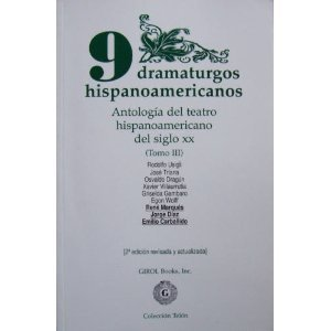 9780919659391: 9 DRAMATURGOS HISPANOAMER.,TOM